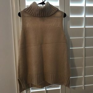 Women's sleeveless sweater